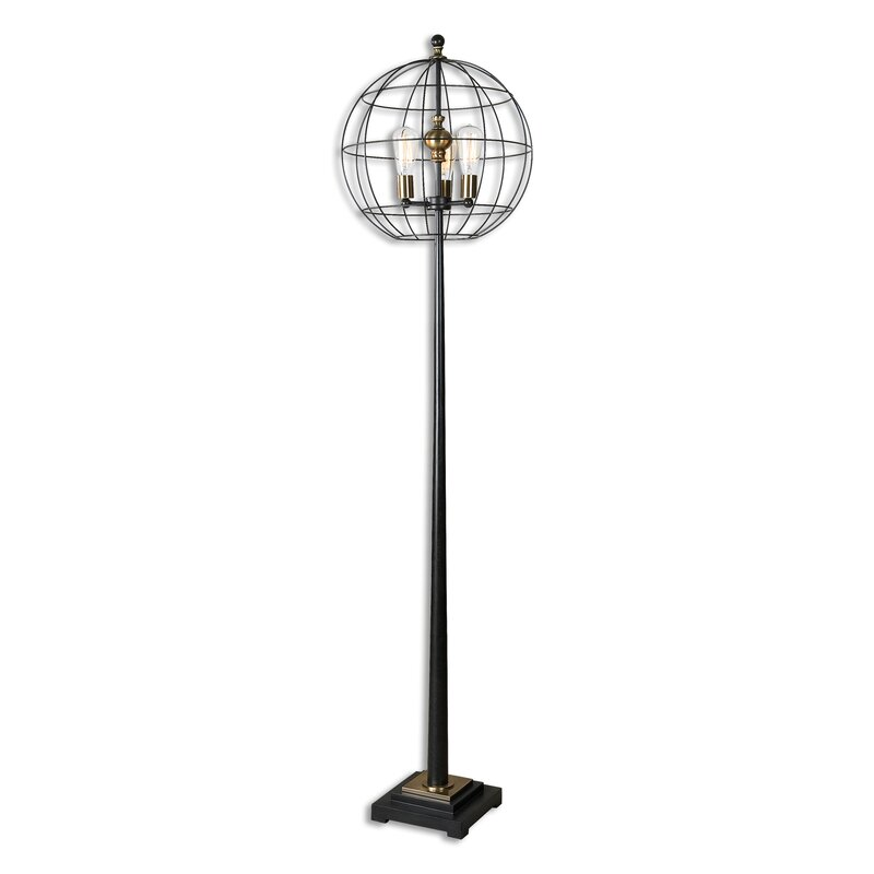 palla 74 25   floor lamp uttermost palla 74 25   floor lamp  u0026 reviews   wayfair  rh   wayfair