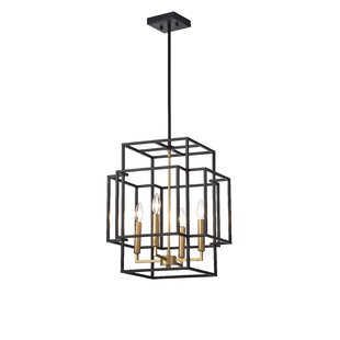 Justus 4-Light Geometric C..