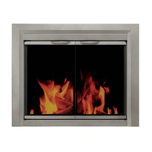 Colby Cabinet Style Steel Fireplace Doors by Pleasant Hearth