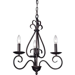 Jerome 3-Light Candle Style Chandelier