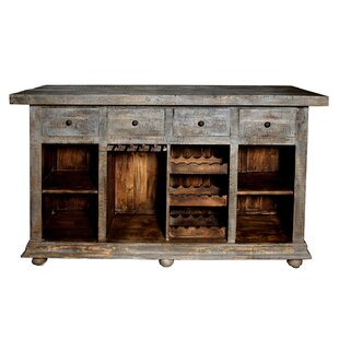 Loon Peak Rhoades 4 Drawer Bar Cabinet
