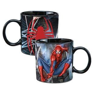 Marvel Spider-Man Heat Reactive Coffee Mug