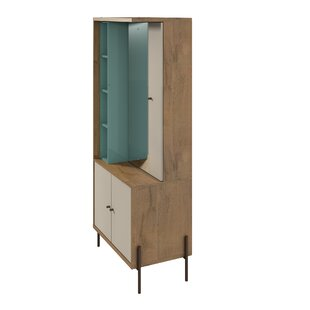 George Oliver Armando Free Standing Jewelry Armoire with Mirror