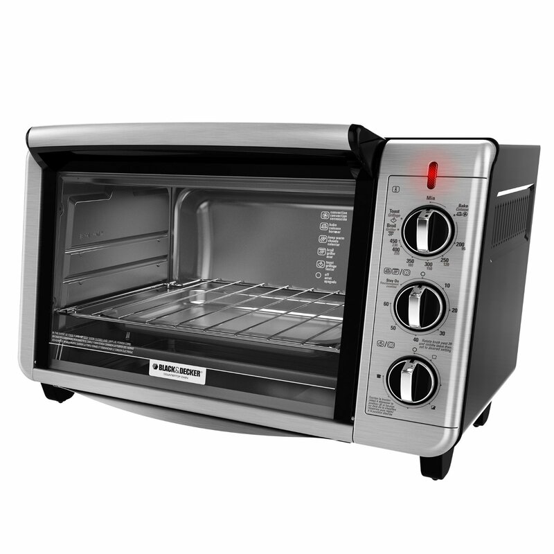 Black Decker Convection Toaster Oven & Reviews