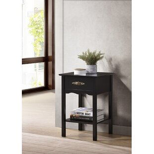 1 Drawer Nightstand by PJWarehouse
