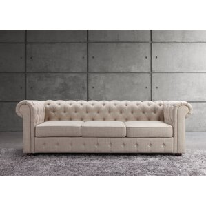 Mulhouse Furniture Garcia Chesterfield Sofa