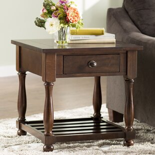 Bargain Mannox End Table by Alcott Hill