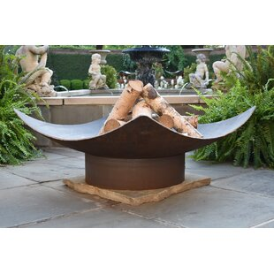 Quadrilateral Steel Wood Burning Fire Pit By Seasons Fire Pits