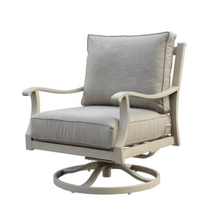 Darby Home Co Caressa Patio Chair with Cu..