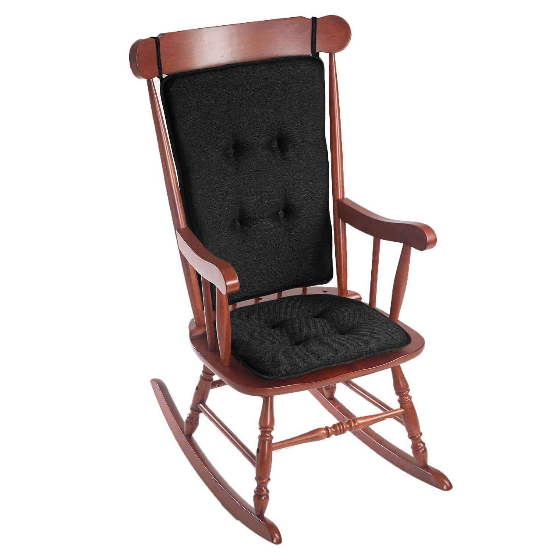 Klear Vu Embrace 2 Piece Gripper Rocking Chair Cushion Set U0026 Reviews |  Wayfair