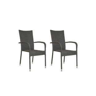 Tinker Stacking Garden Chair (Set Of 2) By Sol 72 Outdoor