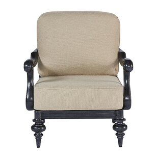 Canora Grey Hargrave Patio Chair with Cus..