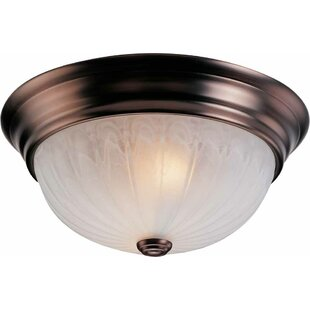 Three Posts Emington 3-Light Ceiling Fixture Flush Mount