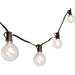 Top Reviews 20-Light 19 ft. Globe String Lights By The Gerson Companies