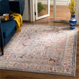 Affordable Sahraoui Gray/Light Gray Area Rug By Bungalow Rose