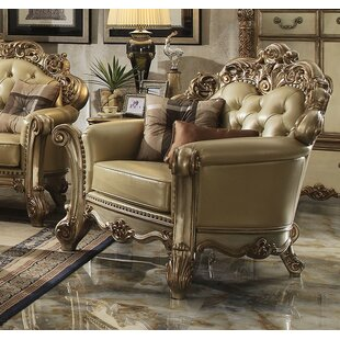 Mccarroll Upholstered Club Chair with 2 Pillows by Astoria Grand