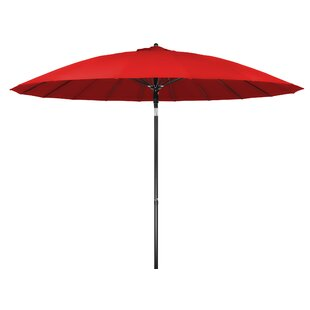Push-Up Patio 9' Market Umbrella by Trademark Innovations 2019 Online