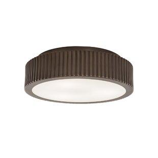 Ebern Designs Kraft 2-Light Flush Mount