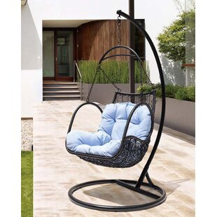 Clegg Patio Porch Swing with Stand by Bungalow Rose