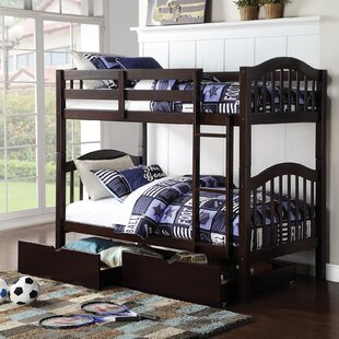 Deals Dwaine Twin over Twin Bunk Bed with Storage by Harriet Bee Reviews (2019) & Buyer's Guide
