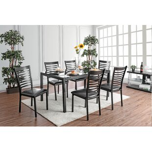 Bhamidipati 7 Piece Dining Set by Ebern D..
