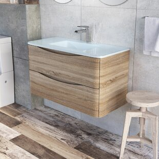 Harleigh 900mm Wall Mounted Vanity Unit By Ebern Designs