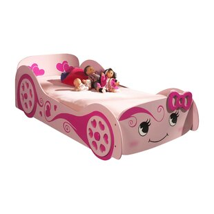 Pretty Girl European Single Car Bed By Just Kids
