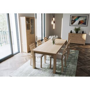 Laguna Extendable Dining Set With 6 Chairs By Daily Sales