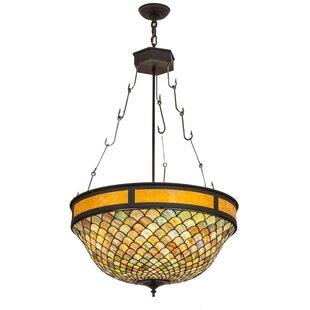 Meyda Tiffany 4-Light Bowl Pendant