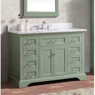 Hollinger 48 Single Bathroom Vanity Set by Highland Dunes