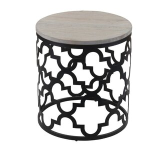 Isabelle End Table by Bungalow Rose