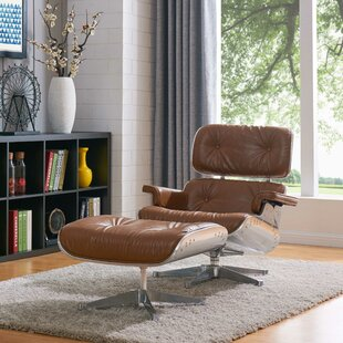 Brayden Studio Hamilton Lounge Chair and Ottoman