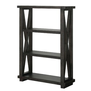 Ivan 3 Tier Wooden Standard Bookcase by 17 Stories