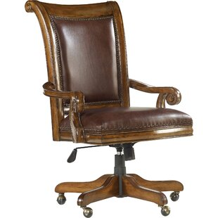 Hooker Furniture Tynecastle Leather Bankers Chair
