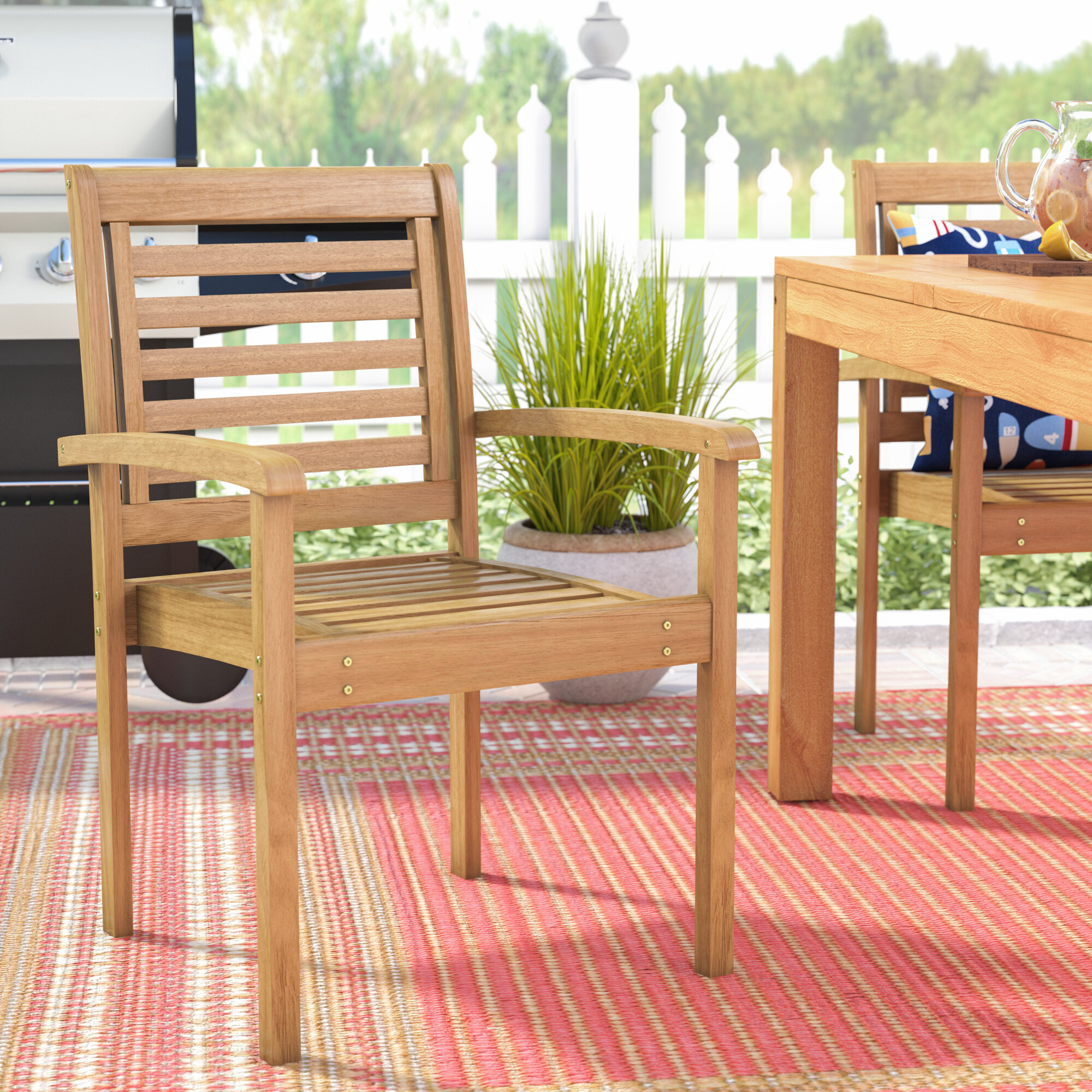 Brighton Patio Furniture.Sol 72 Outdoor Brighton Stacking Patio Dining Chair Reviews