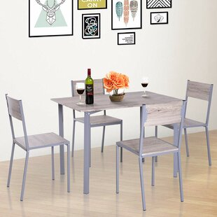 Legros Modern Compact 5 Piece Dining Set by Ebern Designs