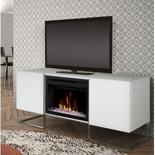 Chase TV Stand for TVs up to 75 with Fireplace by Dimplex