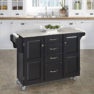 Millwood Pines Legler A Cart Kitchen Island With Solid Wood Top Reviews Wayfair