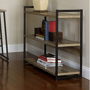 Household Essentials Ashwood Etagere Bookcase