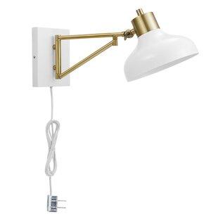 Gipson 1 Light Swing Arm Lamp