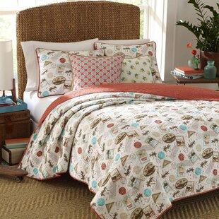 Sterne 100% Cotton Reversible Quilt Set