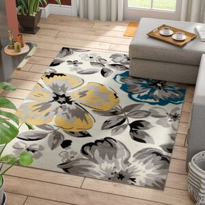 Regner Cream Area Rug