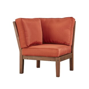 Brook Hollow Corner Chair with Cushion