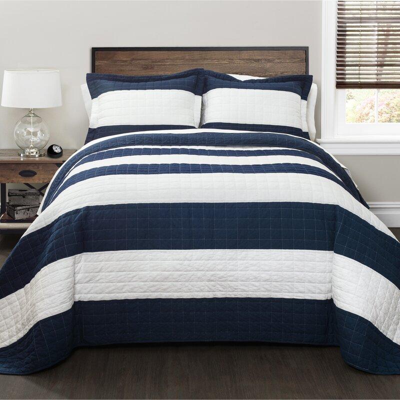 The Twillery Co. Hamilton 100% Cotton Quilt Set & Reviews | Wayfair : the cotton quilt - Adamdwight.com