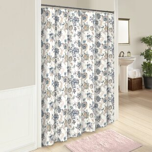 Odell Cotton Shower Curtain by Red Barrel Studio