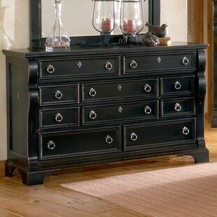 Lark Manor Rosehill 10 Drawer Triple Dresser