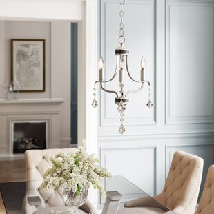 Etienne 3-Light Candle Style Chandelier by Willa Arlo Interiors