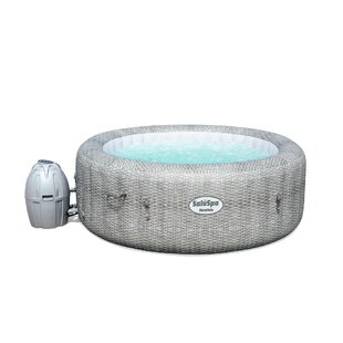 Coleman 4 - Person 114 - Jet Round Inflatable Hot Tub in Gray