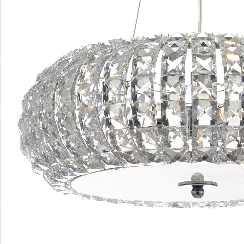 Levron 6 Light Crystal Chandelier