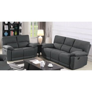 Price comparison Estrela Motion 2 Piece Reclining Living Room Set by Latitude Run Reviews (2019) & Buyer's Guide